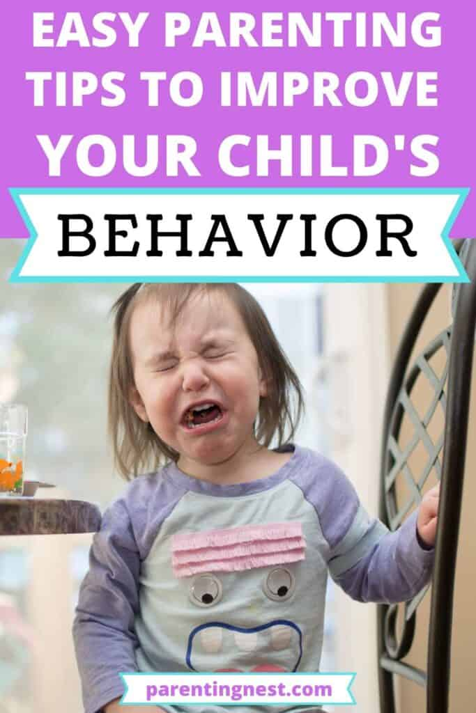 Easy parenting tips to improve your child's behavior