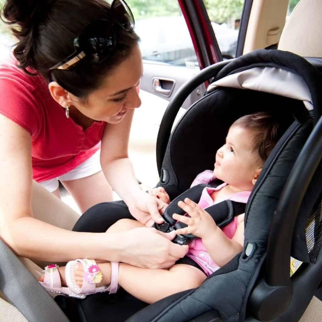 best narrow car seats