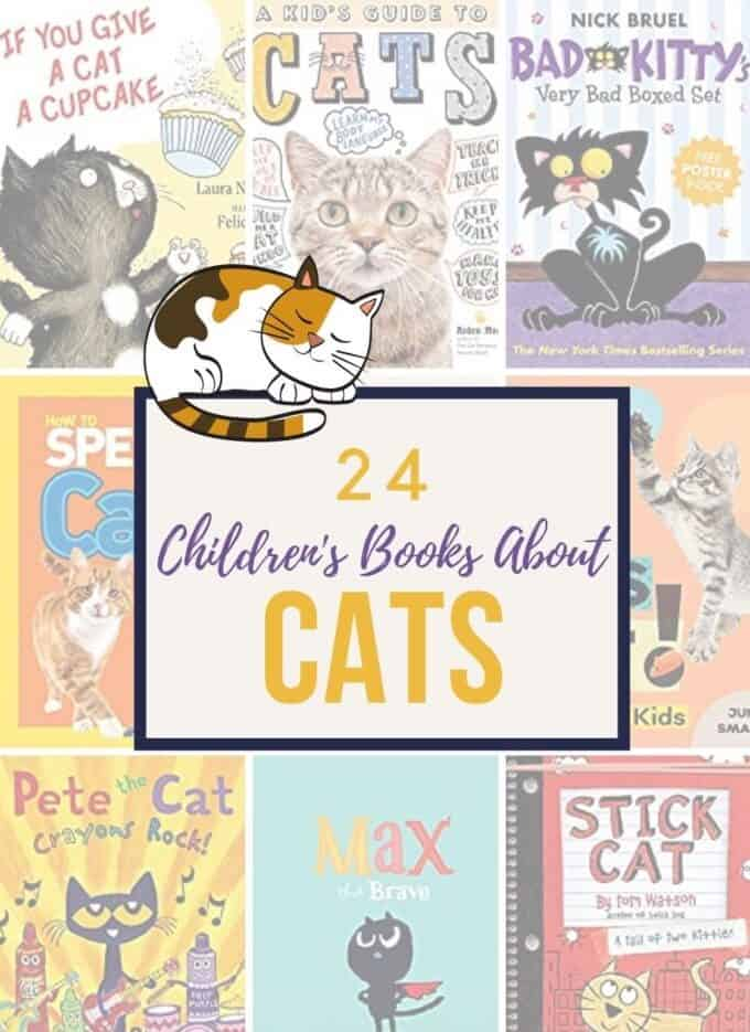 24 Childrens Books About Cats