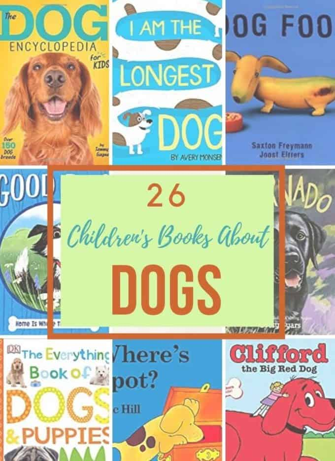 26 Childrens Books About Dogs