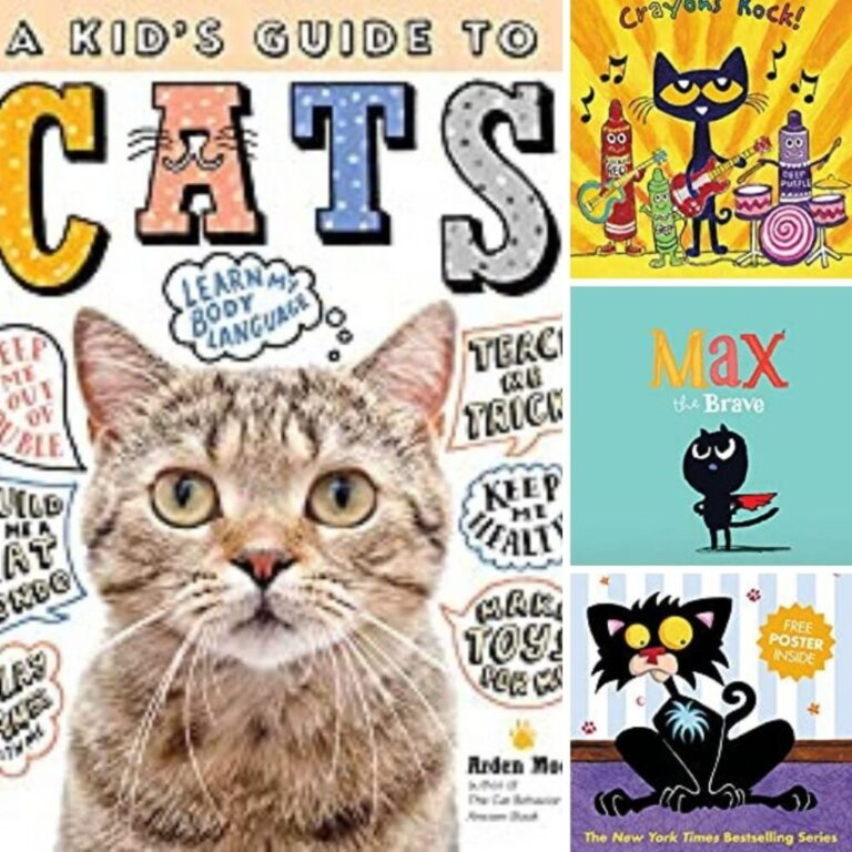 24 Best Cat Books for Kids