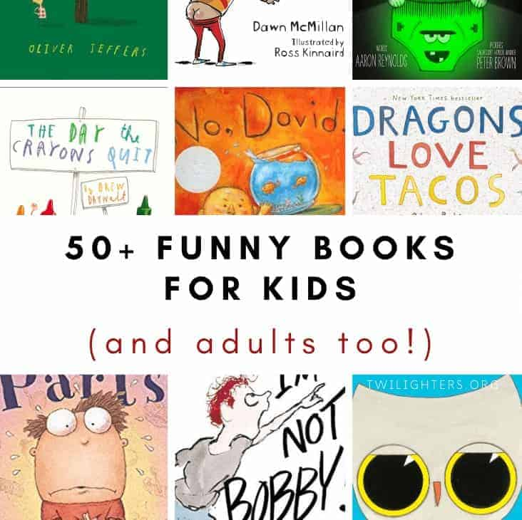 53 Funny Children's Books to Read Aloud with Your Kids