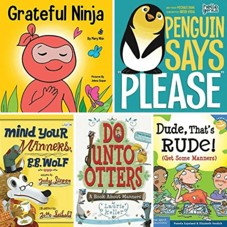 16 Best Kids' Books About Manners