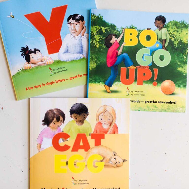 The Bo Books: Easy Reader Books for Beginners