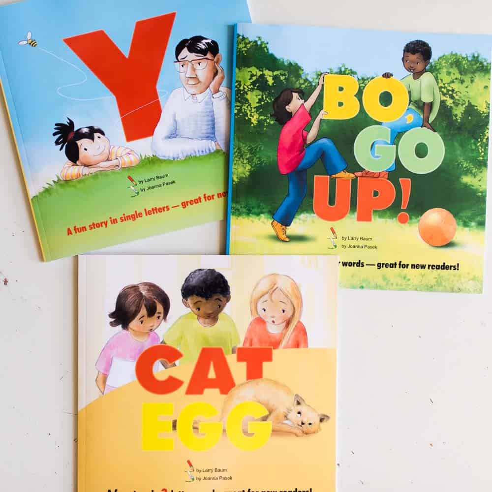 The Bo Books series early reader books