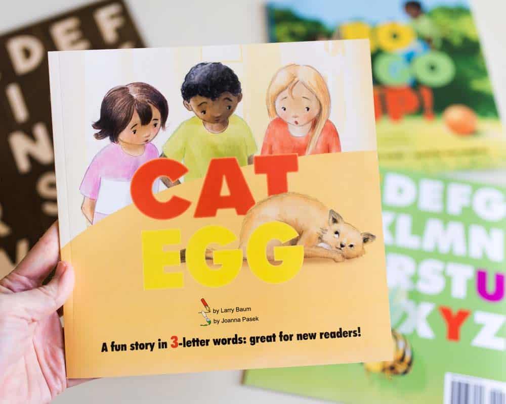 cat egg early reader books