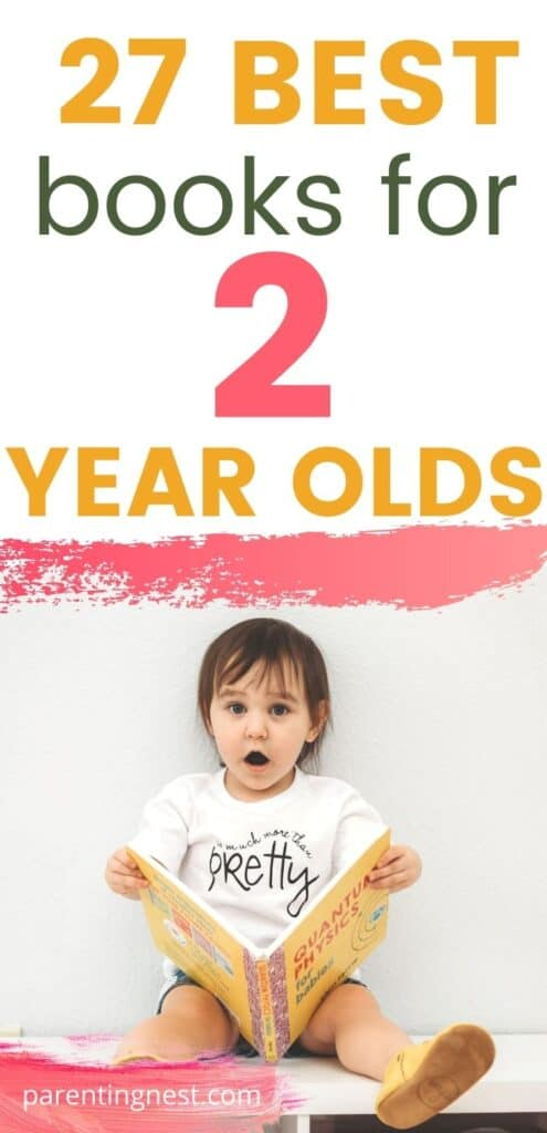 27 Best Books for 2 Year Olds