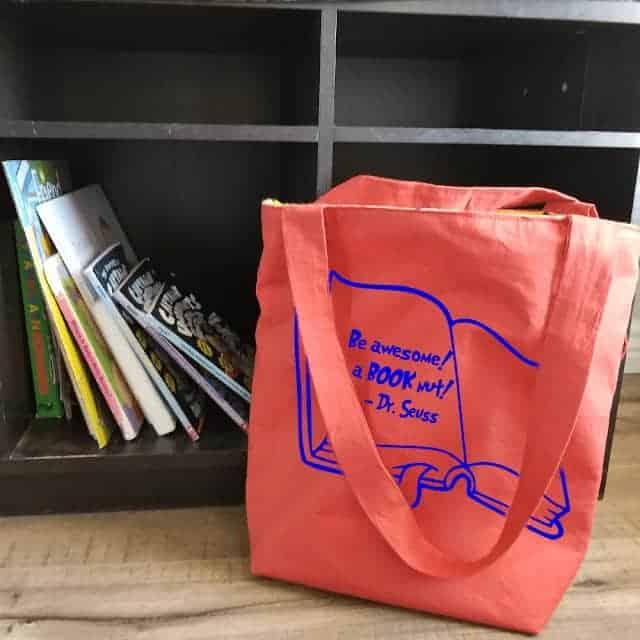 dr seuss book bag sewing pattern
