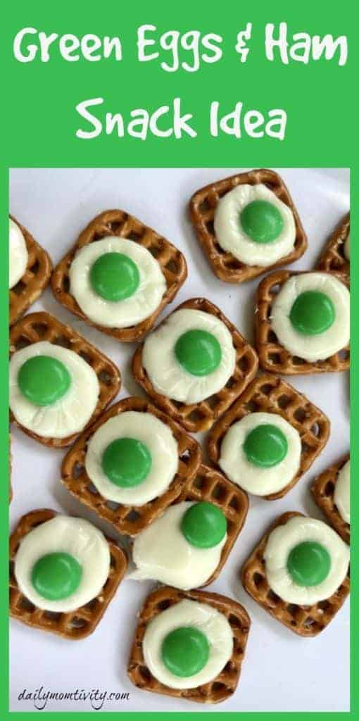 green eggs and ham snack