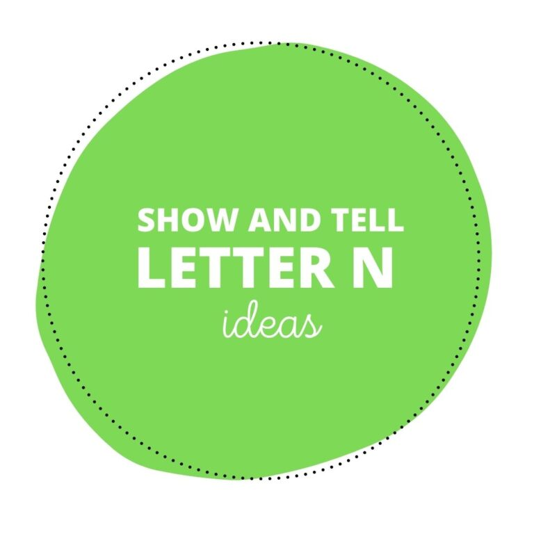 28 Neat Show and Tell Letter N Ideas