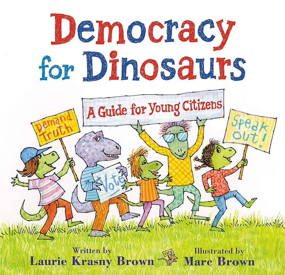 democracy for dinosaurs government book for kids